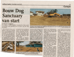 Bouw DOG sanctuary van start