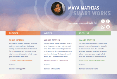 Maya Mathias van Smart Works